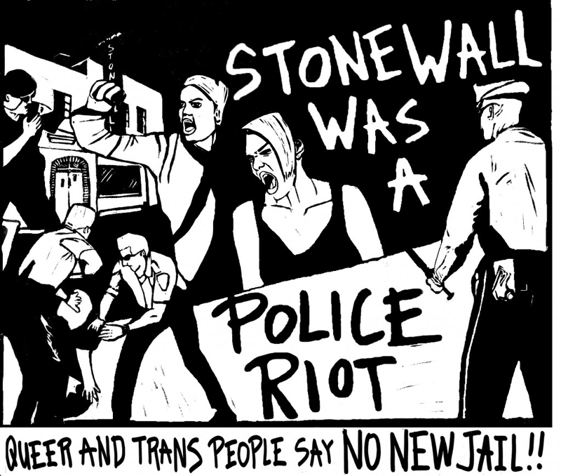 stonewall was a police riot